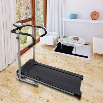 "Electric Treadmill 100x34 cm with 3"" LCD Display 500 W"