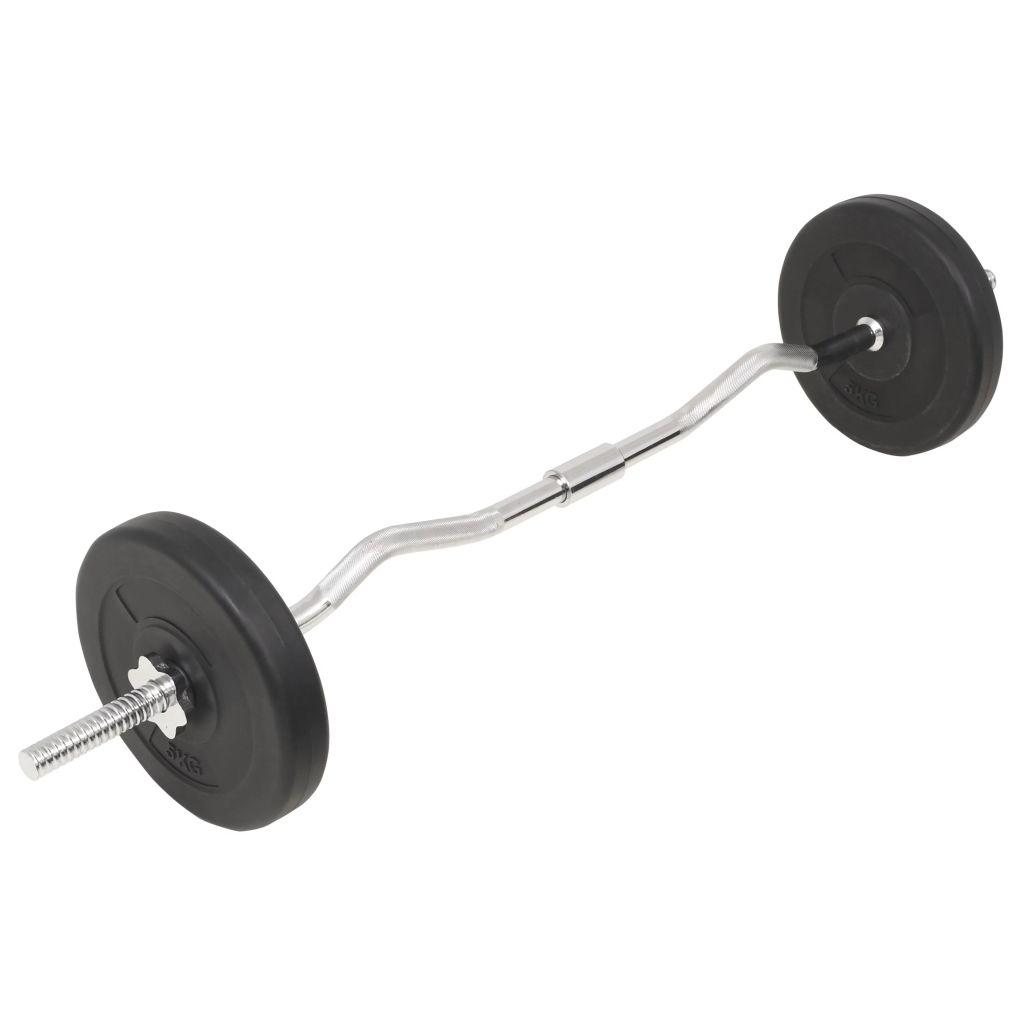 Barbell and Dumbbell Set 30 kg
