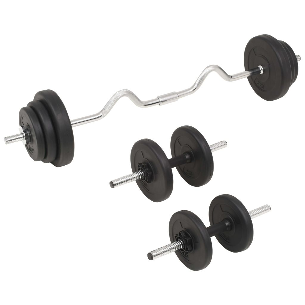 Barbell and Dumbbell Set 30 kg