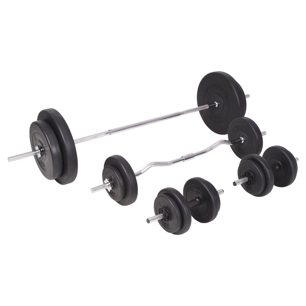 Barbell and Dumbbell Set 90 kg