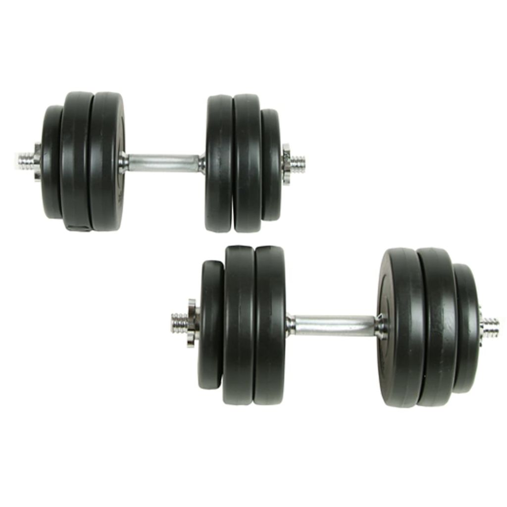 Dumbbell Set 18 Piece 2 pcs 30 kg