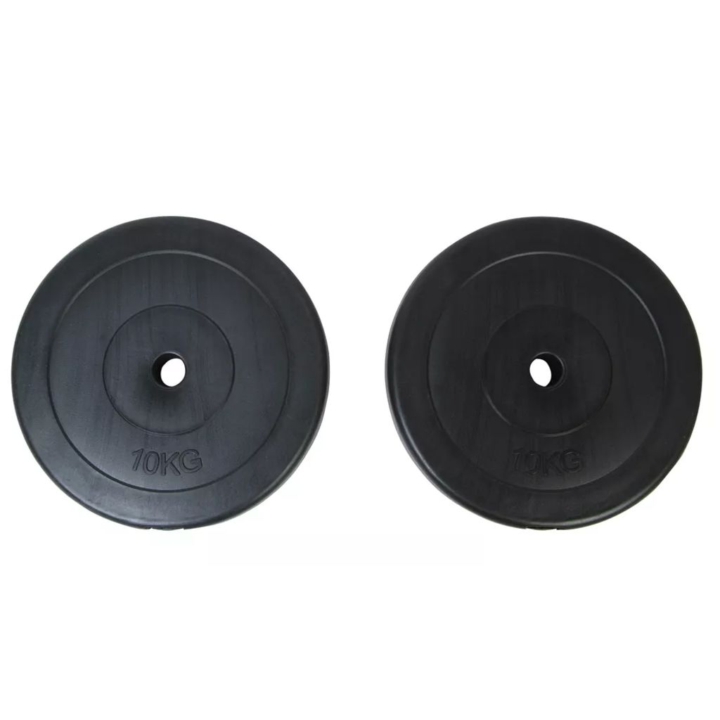 2 x Weight Plates 10 kg