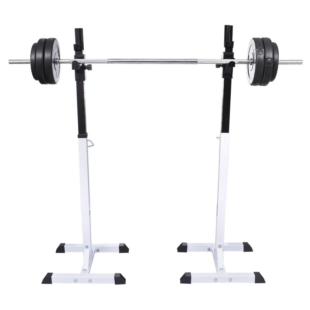 Squat Barbell Rack Set