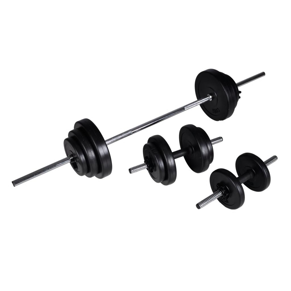 Barbell +2 Dumbbell Set 30.5kg
