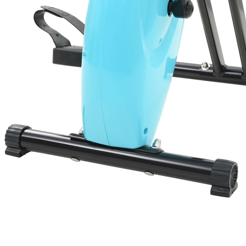 Folding Magnetic Exercise Bike Xbike 2.5 kg Black Blue