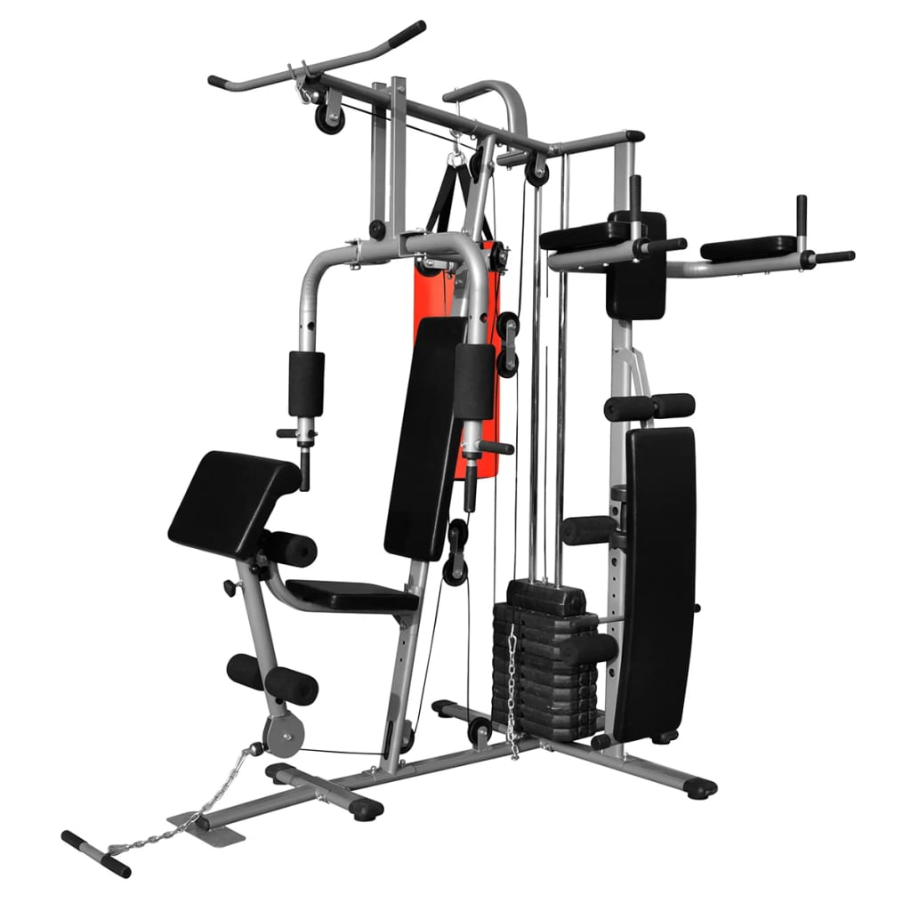 Multi-functional Home Gym with 1 Boxing Bag