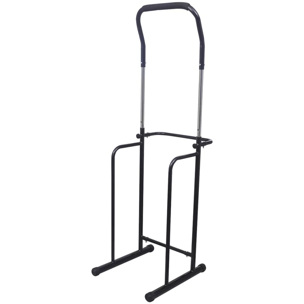 Adjustable Pull-up / Dip Station 175-224 cm Black