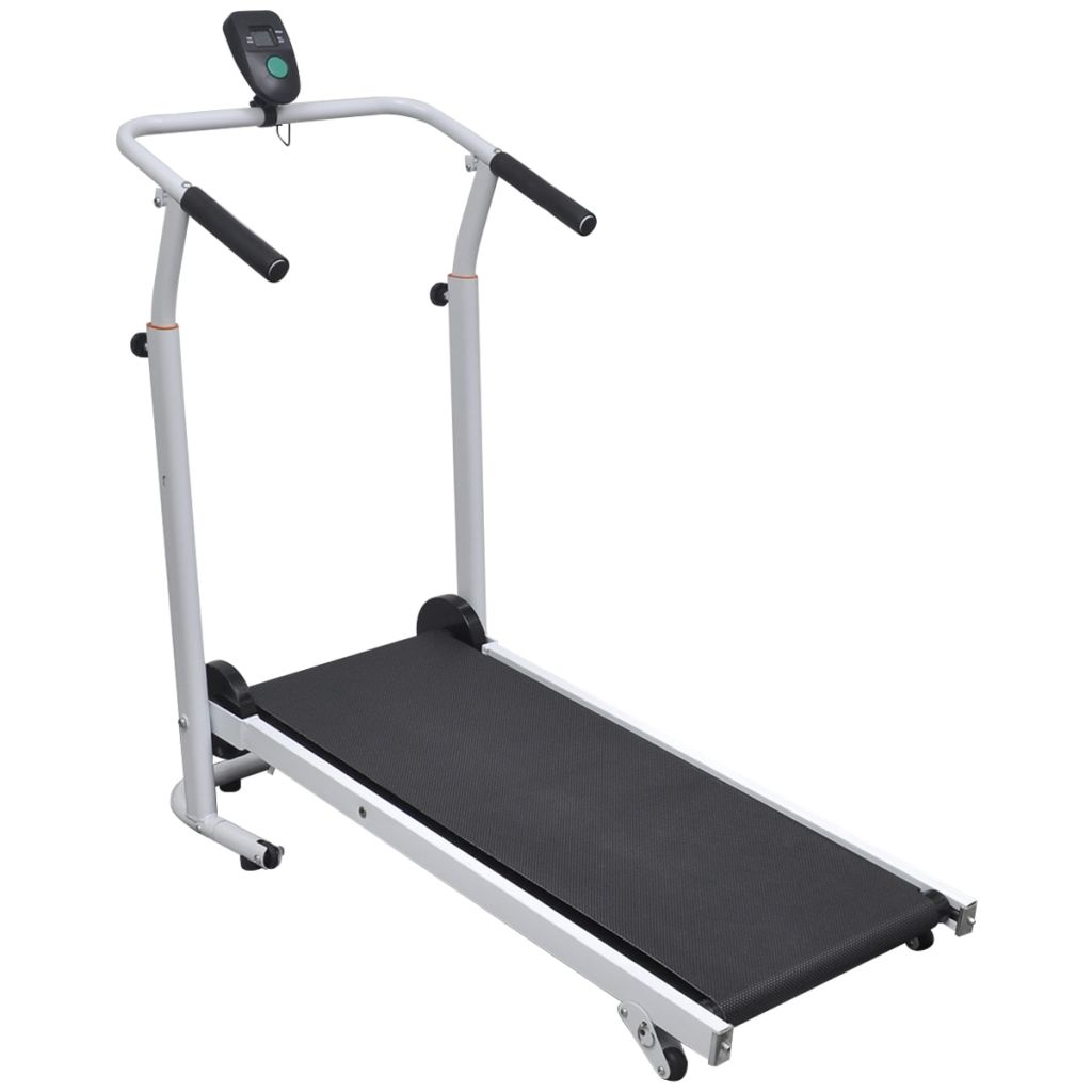 Mini Treadmill Folding 93 x 36 cm Black